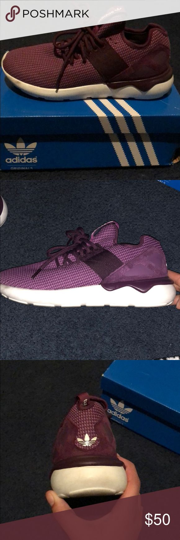 Adidas Tubular Runner Women's Great with a lot of outfits  Worn like 4 times 7/10 adidas Shoes Athletic Shoes