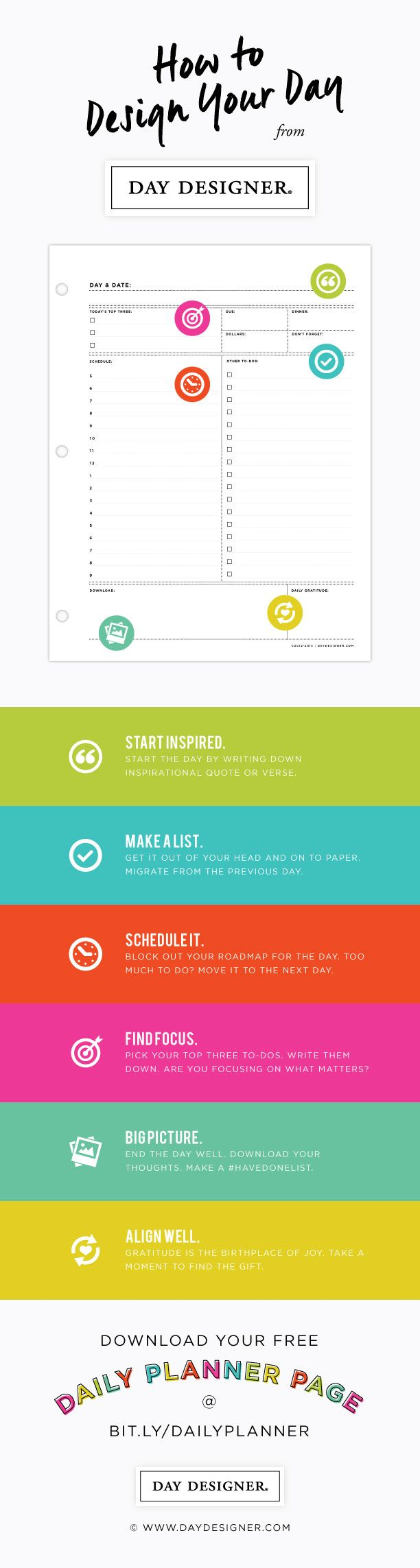 25 best ideas about Daily Schedule Template – 5 Day Schedule Template