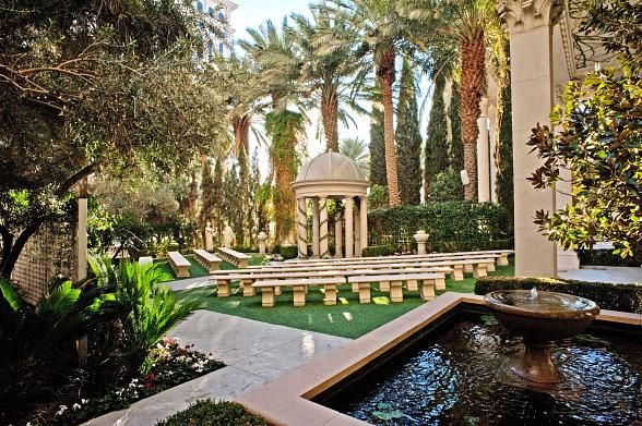 Venus Garden at Caesars Palace Las Vegas. were looking into having the wedding here