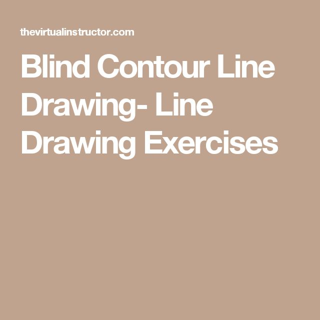 Blind Contour Line Drawing Tutorial : Best contour hands objects images on pinterest