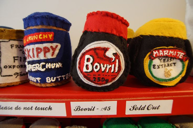 Lucy Sparrow recreates the all-but-extinct cornershop in textile form... http://www.we-heart.com/2014/10/23/lucy-sparrow-cornershop-by-the-sea-no-walls-brighton/
