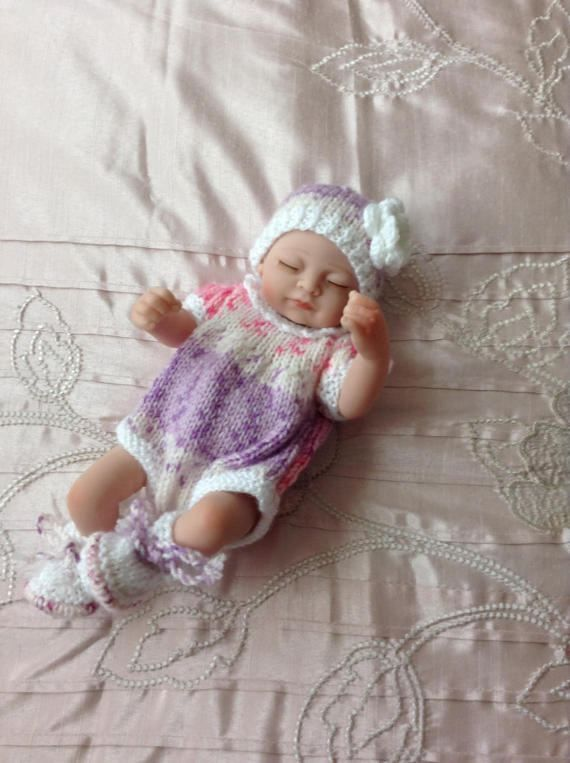 Hand knitted dolls clothes to fit 9/10 by HandKnittedbyme on Etsy