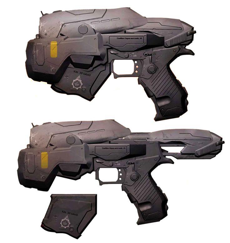 827 best sci-fi weapons images on Pinterest Sci fi weapons - new blueprint gun art