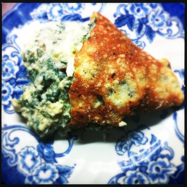Spinach soufle  #spinach, #soufle, #eggs, #cheece
