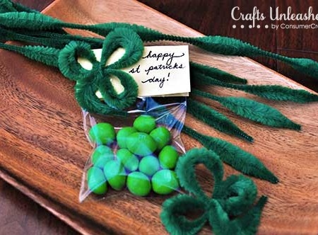 St Patrick Day Crafts Shamrocks - Crafts Unleashed
