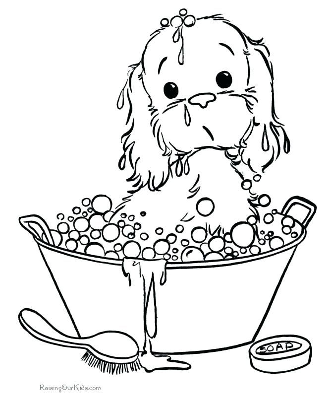 Free Coloring Pages Of Puppies Puppy Coloring Pages Dog Coloring Page Coloring Pages