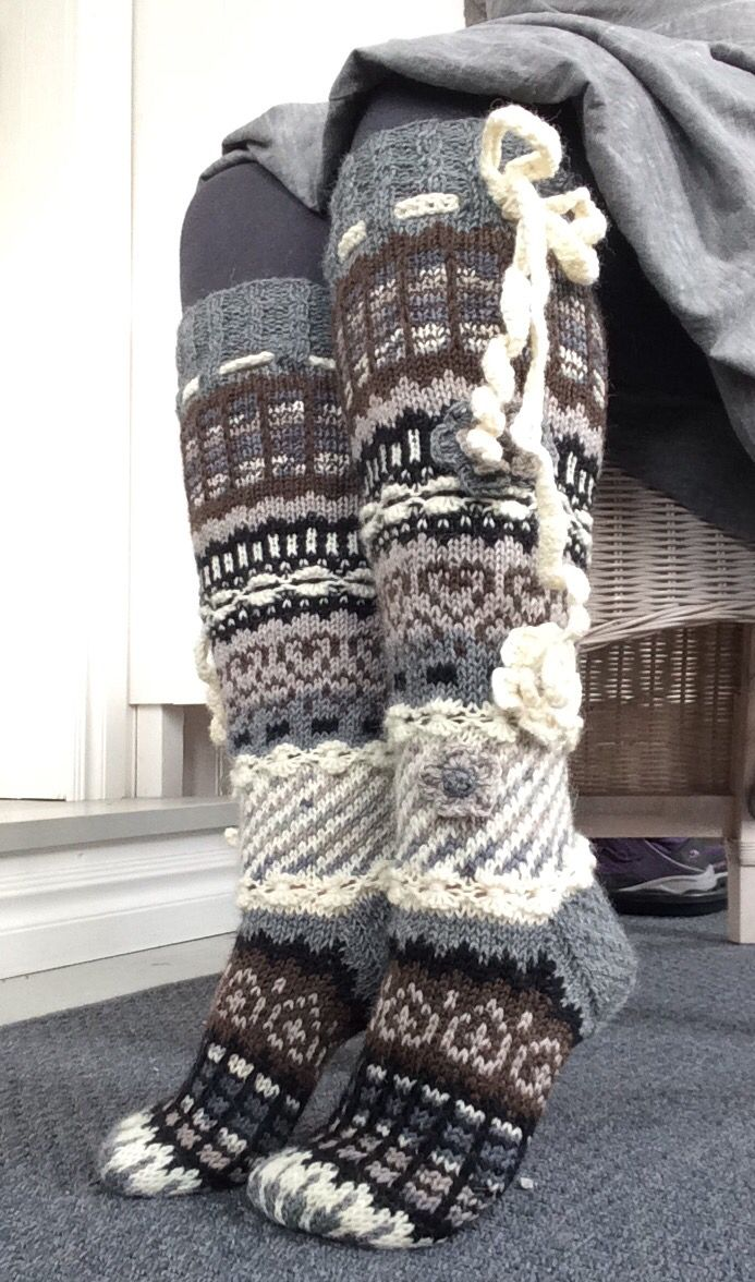 """Marsa's socks """"Anelmaiset"""""""