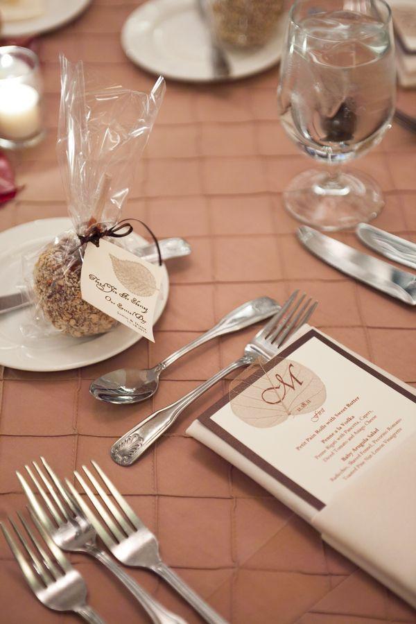 Candy Apple Wedding Favor
