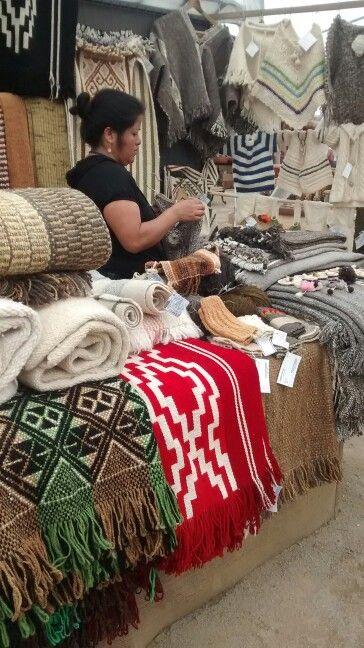 Textiles tipicos  de Chile
