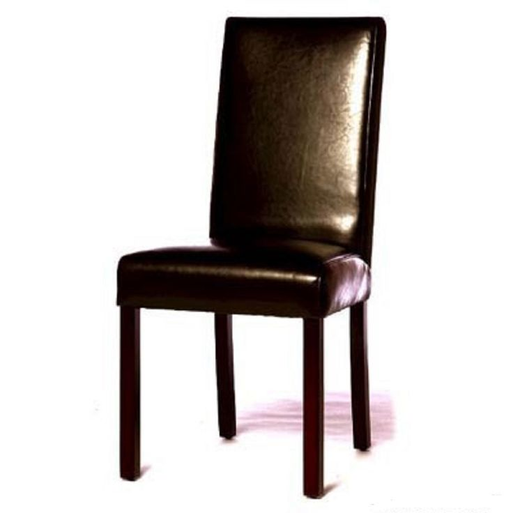 Monaco Black Leather Dining Chairs (Set of 6) Retail  $2699 Our Price   $1049