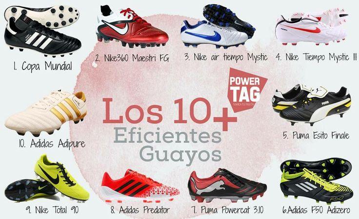 #Los10+ Guayos más eficientes