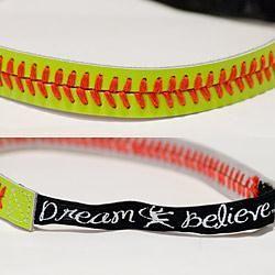 The Official Store Of Jennie Finch | Headband- Softball Seam - Headbands & Ribbons - APPAREL