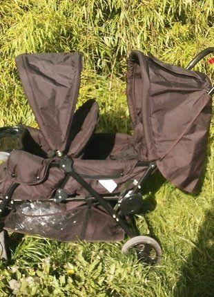 À vendre sur #vintedfrance ! http://www.vinted.fr/mode-enfants/poussettes-pour-jumeaux/34390028-poussette-double-safety-first
