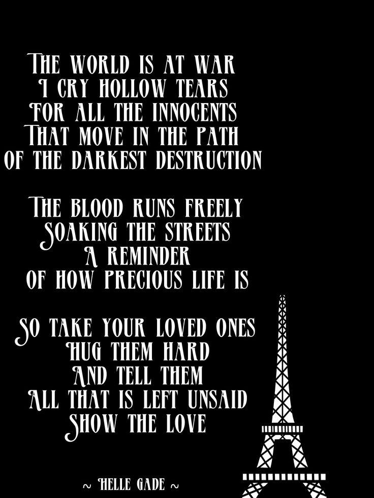 World War #prayforparis