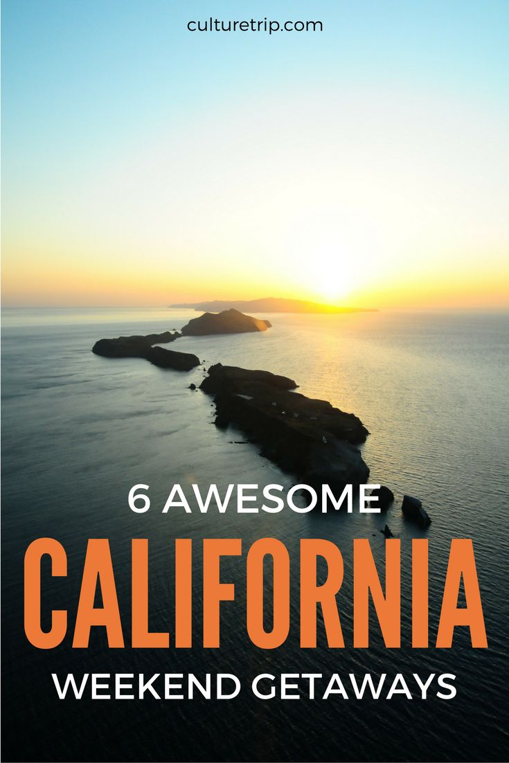 6 Awesome California Weekend Getaways // © Wentao // Creative Commons