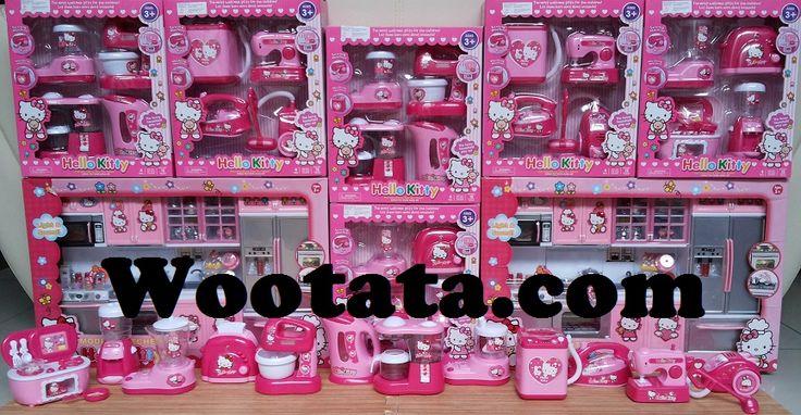 Jual Mainan Kitchen Set Anak Hello Kitty Terlengkap