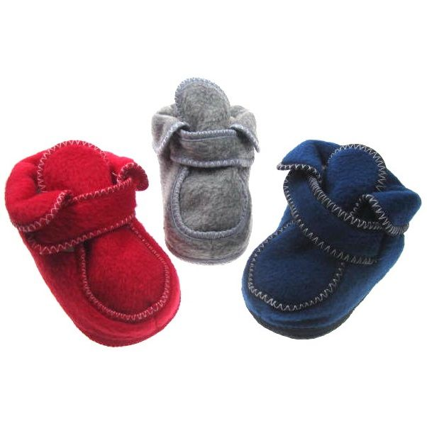 B910-B: Fleece Bootees (6-24 Months) | Kiddies World Wholesale