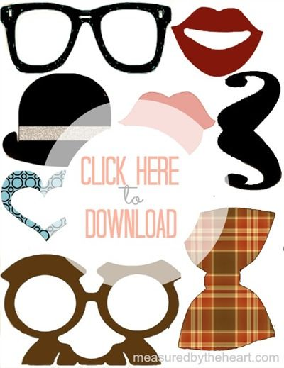 Free Photo Prop Printables by Measured by the Heart