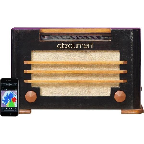 Savourez votre musique avec ou sans fil sur une vieille radio !a.bsolument Vintage Radios transforme d'anciennes radios en enceintes dotées des dernières technologies pour un son des plus optimal.La modification que Arthur et Pierre apportent est entièrement artisanale et réalisée en France. Ils retravaillent entièrement la radio à l'intérieur d'un point de vu acoustique : travail du bois et des jointures pour la résonance propre à chaque modèle.Laissez vous séduire par un produit ...