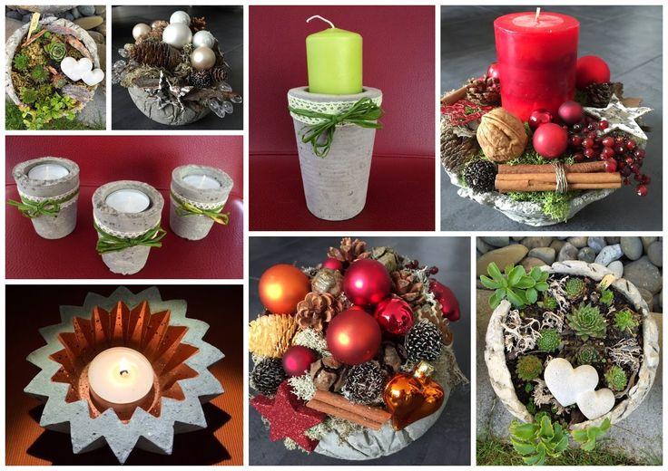 Kreative Mitbringsel aus Beton: Koffermarkt Wetzikon / Herbstmarkt Egg