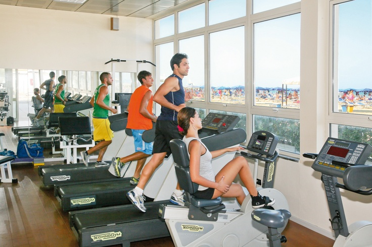 Palestra fitness. Fotogallery Riminiterme