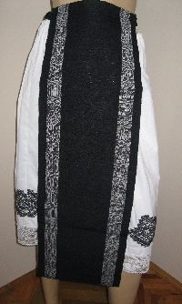 Antique hand woven Romanian aprons from Banat - never worn. Available at www.greatblouses.com