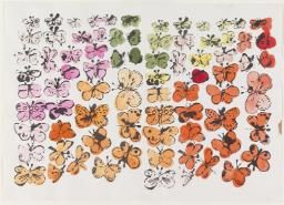 Andy Warhol 'Happy Butterfly Day', 1955 © 2016 The Andy Warhol Foundation for the Visual Arts, Inc. / Artists Right Society (ARS), New York and DACS, London