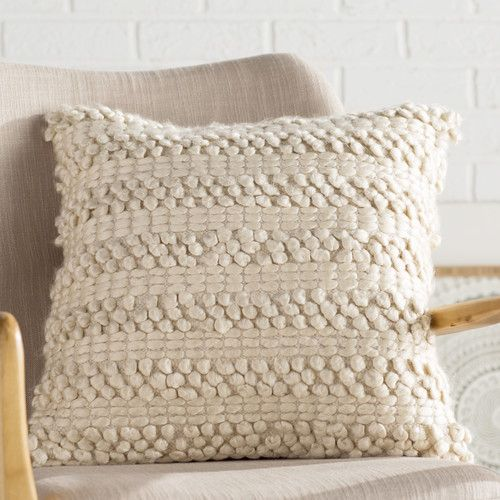 Found it at AllModern - Prony Woven Stripes Jute Throw Pillow