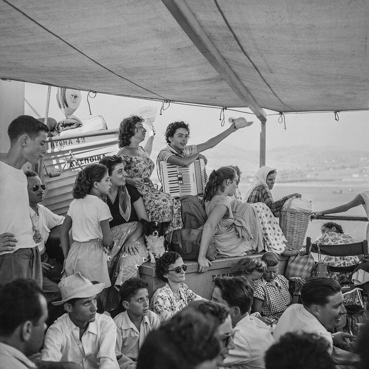 Deck Class on the Despina 1955. Photo © Robert McCabe.
