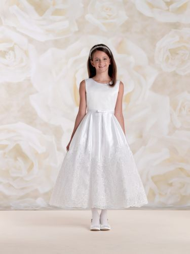First Communion Dress by Joan Calabrese for Mon Cheri 115300