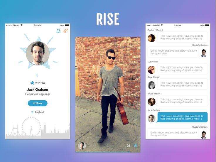 Rise App by Mustafa Gerdan