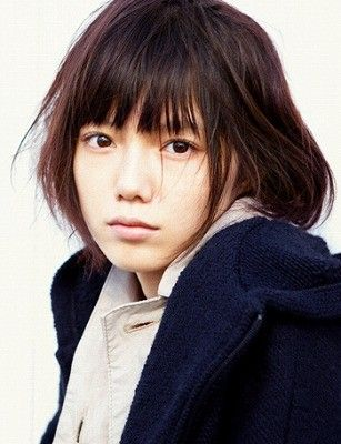 Aoi Miyazaki. Although she looks young, she is an adult japanese actress.