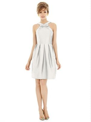 Pippa dress  #white #cocktail  http://www.bellebridesmaid.com.au/product/pippa/