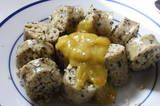 Guyana - White Pudding with Mango Sour