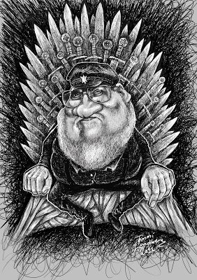 Karikaturisti: George R R Martin