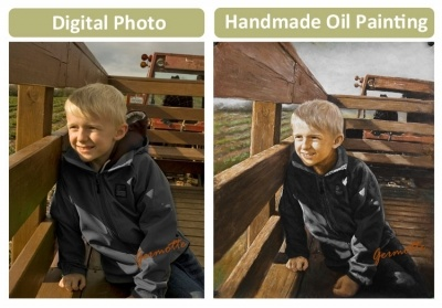 Convert Photo Into Painting from Germotte it's the best place to do it. starting $183