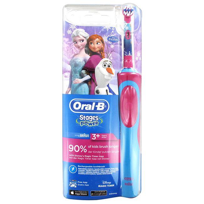 Oral-B Disney Frozen Stages Power Kids tandenborstel  Description: Oral-B Frozen Disney Stages Power kindertandenborstel met Frozen Elsa. Ook verkrijgbaar in Cars uitvoering. Leer kinderen elektrisch tandenpoetsen met Oralb.  Price: 17.85  Meer informatie  #tandenborstel #philps #braun #tand #poetsen