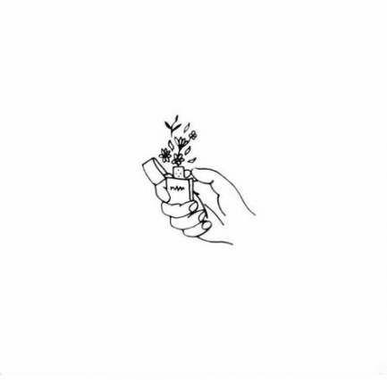 aesthetic drawing tattoo quotes simple drawings tattoos easy flower rose draw flowers femaline havenwallpaper ru