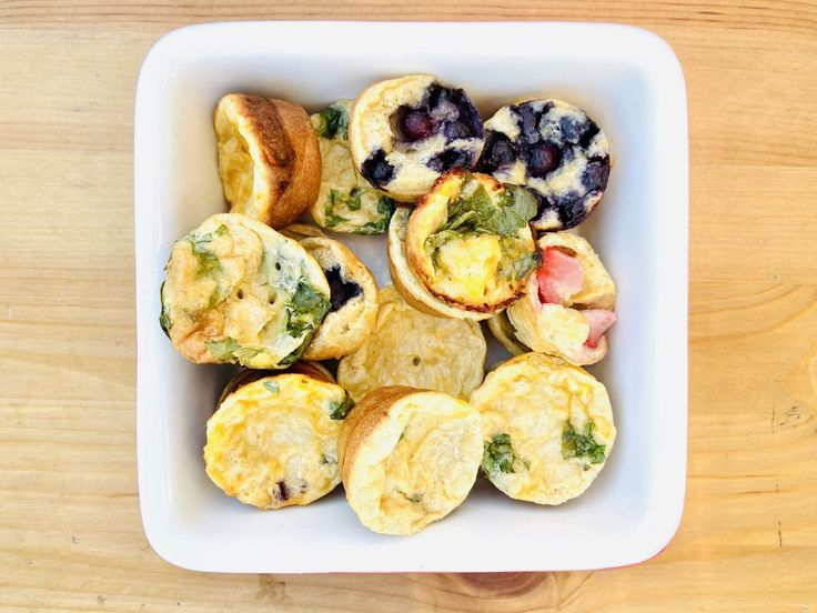 Mini Muffin Tin Dutch Babies in 2020   Baby food recipes ...