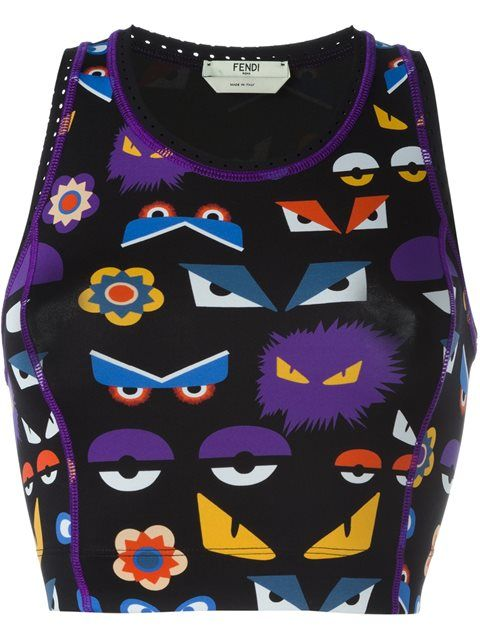 Shop Fendi Bag Bugs printed vest top in Donne Concept store from the world's best independent boutiques at farfetch.com. Shop 400 boutiques at one address.