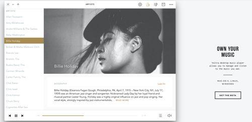 Voltra reproductor musical minimalista y con store integrada   Voltra es un reproductor de música disponible para Windows Mac y Linux cuenta con la capacidad de poder reproducir la música que tenemos almacenada en nuestro ordenador pero también nos brinda la opción de poder adquirir nuevos temas musicales de una forma completamente distinta a la que hemos visto en otras alternativas.  Para entender mejor como funciona vamos a brindar un ejemplo de las alternativas actuales excluyendo de esta…