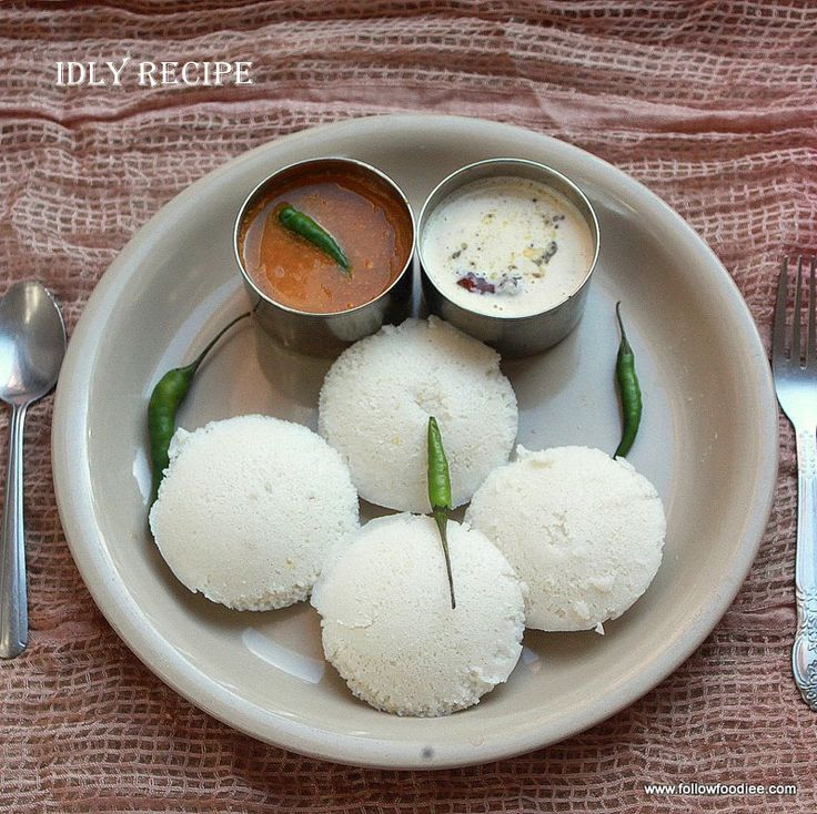 Indian Foods Recipes Coconut Chutney Rice Cakes