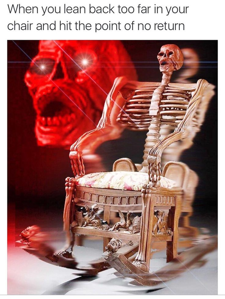 When you realize you're boned