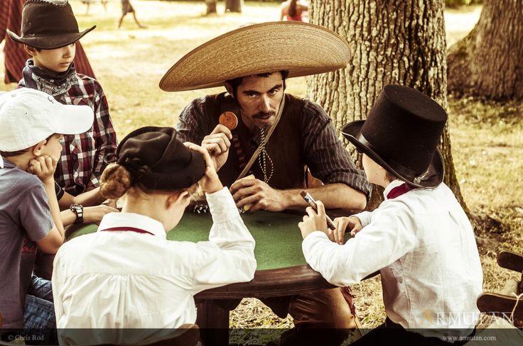 ©#armutan ©#chrisrod #farwest #bandido #poker #jeudecartes #spectacleenfants