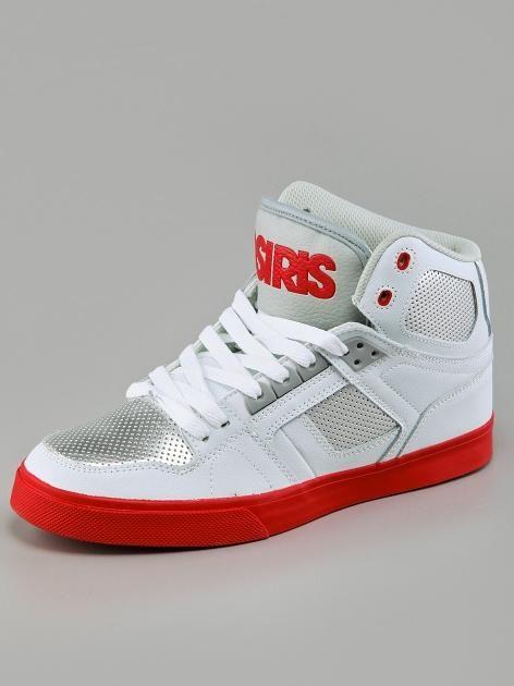 Osiris NYC 83 VLC White Grey Red