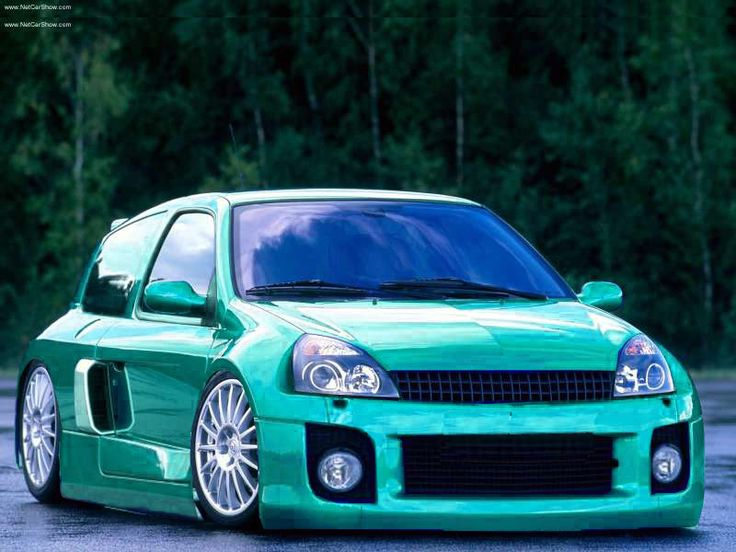 Modified Renault Clio V6 Renaultsport Phase 2