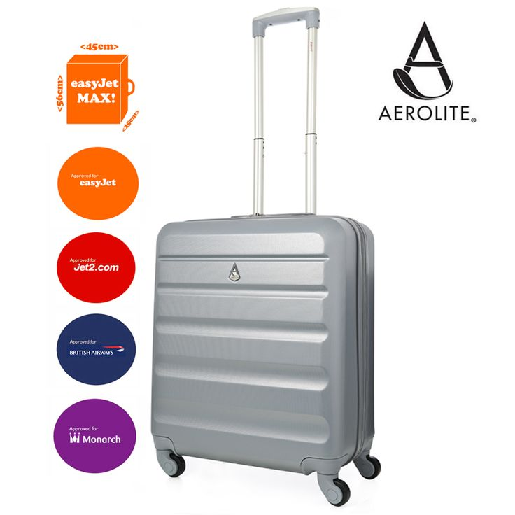 """<ul class=""""a-vertical a-spacing-none""""> <li><span class=""""a-list-item"""">56x45x25cm (All Parts) = EXACTLY the Maximum Allowance Cabin Luggage Size for Easyjet and British Airways / 51x40x20cm (Body) / Weight 3.2kg / Capacity: 41L</span></li> <li><span class=""""a-list-item"""">Rugged Anti-Scratch ABS Material to Protect Your Contents During Your Travels</span></li> <li><span class=""""a-list-item"""">4 Wheel Spinner Design for Full 360 Degree Manoeuvrability</span></li> <li><span…"""