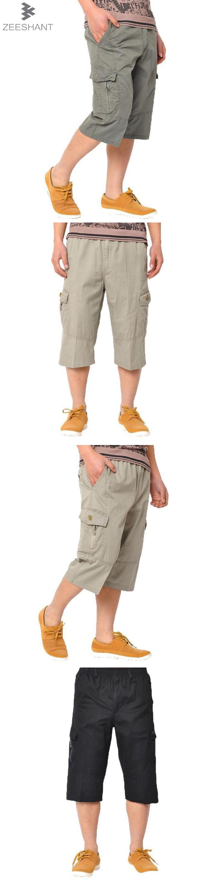 ZEESHANT Plus XXXXXXL Militar Tactical Cargo Pants Capris Dungarees Men Combat Army Military Pants in Men's Casual Pants