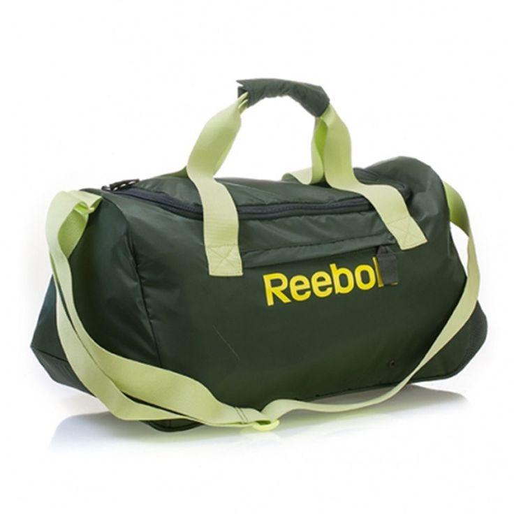 Bag Reebok Grip Gym Duffle Holdall Pu Shoe Se Womens Sports Travel School Duffel…