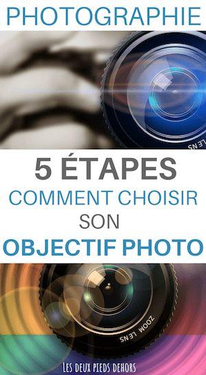 Comment choisir un objectif photo en 5 étapes